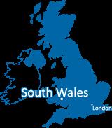 Swansea University 在英國的所在位置